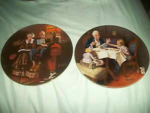 NORMAN ROCKWELL KNOWLES FINE CHINA