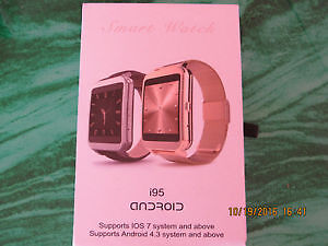 I95 AppleWatch for any Android smartphone - slim Smart Watch New