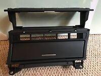 BMW e46 heater relocation bracket ashtray for sat nav tv