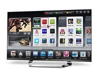 """LG 55"""" 3D TV (inc 3D glasses and 3D blu Ray player)"""