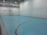 Ball Hockey rink for rent, lacrosse, futsal! Book now