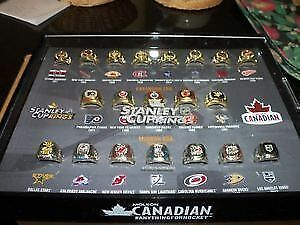Molson Stanley Cup Ring Set.