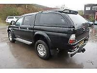 2004 MITSUBISHI L200 TD 4WD LWB WARRIOR DCB PICK UP DIESEL