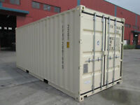 Lowest Prices On 20' Shipping Container and Semi Trailer Rentals