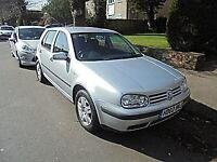 VOLKSWAGEN GOLF 1.9TDI PD ( 100bhp ) AUTOMATIC SE **72,000 MILES ONLY** £1950
