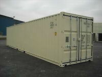 Seacans, Secure Storage - Used 40ft $2975, Used 20ft $2700,