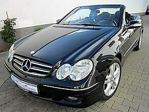 mercedes clk cabrio ebay. Black Bedroom Furniture Sets. Home Design Ideas