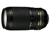 Nikon Zoom AF-S VR 70-300 f/4.5-5.6G IF-ED