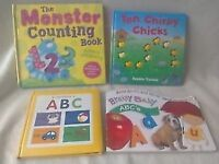 Educational picture books ABC 123 Literary Numeracy