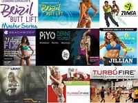 21Day Fix-Piyo-Brazilian Butt Lift-Turbofire-Zumba Fitness-P90X3