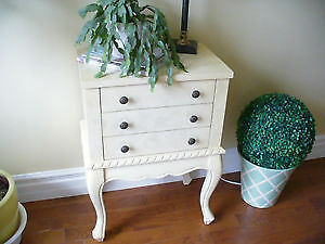 Wanted:Very Small French style dresser or large tall night table