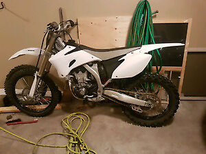Clean 2009 YZ450F  White