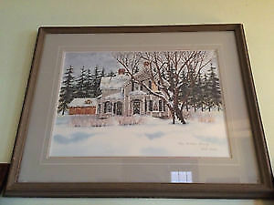 Carole Black Limited Edition Print- Christmas Morning