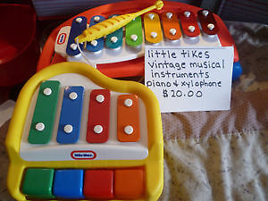 Little Tikes Vintage Musical Instruments
