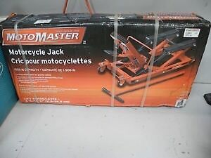 Motorcycle Jack / cric pour motocyclettes 1500 lbs