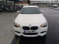 BMW 1 SERIES 116 i M Sport 3 Door (white) 2013