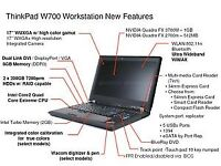 Lenovo ThinkPad W700, Intel Core 2 Duo P8700 - 2.8GHz, 8GB, 180 SSD + 640GB HDD