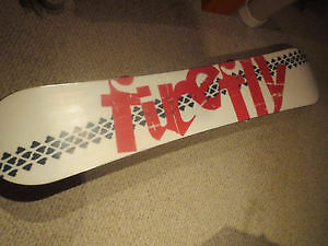 Firefly Snowboard & Bindings - ONLY USED TWICE!