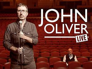 2 x John Oliver Tickets (Sydney, 5pm Sunday 30th August) Chatswood Willoughby Area Preview