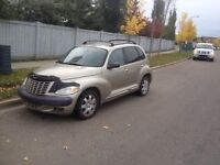 2003 Chrysler Pt Cruiser Reliable Low Kms New Tires $2200