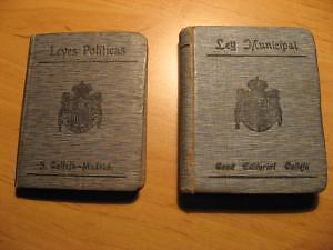 Biblioteca de Derecho vigente, Saturnino Calleja | libros / revistas - 1/1