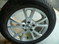Almost New WINTER Tires and Mags for Sale.