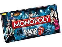 Rolling Stones monopoly board