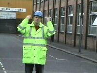 Banksman Traffic Marshall courses to HSE standard Nationwide coverage