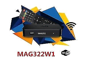MAG 322W1 LINUX BOX BUILT IN WIFI $120--FIRST MONTH SERVICE.