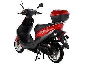 Brand new Tao Tao Gas Moped Scooter 6 month warranty