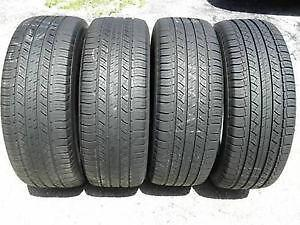 245/55R19 set of 4 Michelin Used (inst. bal.incl) 75% tread left