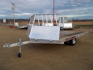 WANT TO BUY :14' Aluminum snowmobile  trailer with V-Nose ramps