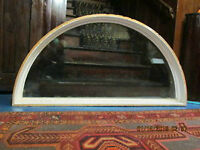 "double paned ""Half Moon"" WIndow - Excellent Condition!"