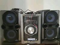 Sony genezi mini hi fi system mhc ec78p