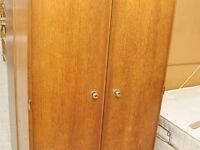 FURTHER REDUCTION!! Wardrobe With Hanging Rail & Shelves- Great Paint Project - Can Deliver For £19