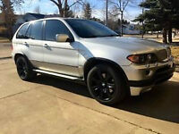 BMW X5 4.8is - Sport Pkg, Nav, HID, Summer/Winter Tires, Low km