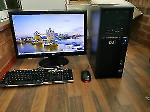 Fast Setup PC  i3/8GB/500GB/RADEON/HDMI/WIN10/OFFICE2016