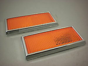 Wanted Rectangular Harley Front fork Reflectors