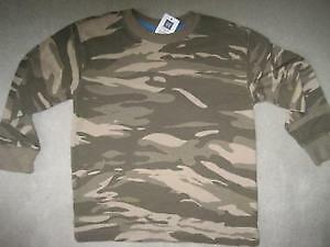 BRAND NEW - GAP CAMOUFLAGE SHIRT SIze S 6/7