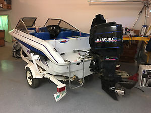 95' Invader open bow 115hp mercury outboard