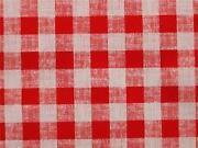 Tischdecke Rot Kariert