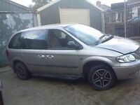 chrysler grand voyager 2.5& 2.8 turbo,injectors,body. body parts,lights etc.. cookstown