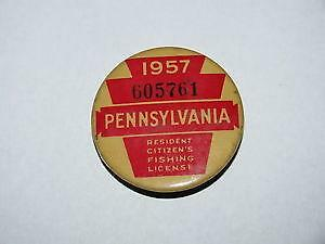 Pa fishing license ebay for Pa fishing laws
