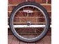 24 Inch Rear and Front Aluminium Alloy Bike Wheels with Tyres