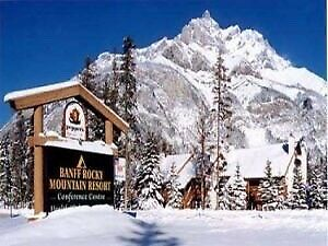 Christmas timeshare in Banff
