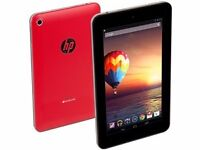 "HP slate 7"" tablet as new boxed. Red. £50 fix price"