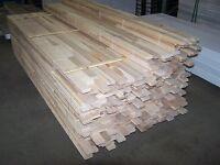 Plancher de merisier brut carré en stock plus de 1000 p.c.milrun