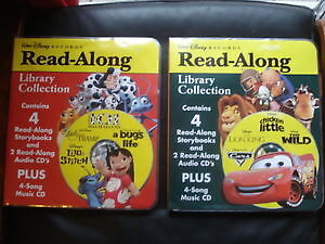 Disney Read-Along Books & Talking Books