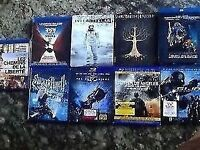 PETIT LOT DE 12 BLU-RAY + 9 DVD.**POSSIBILITE D'ECHANGE**
