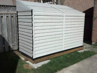 Side Shed Brand New with insulation and base